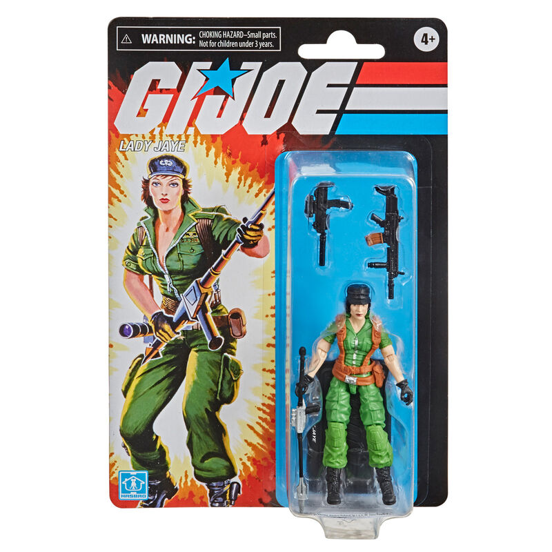 Figura Retro Lady Jaye G.I. Joe 9,5cm 5010993797363