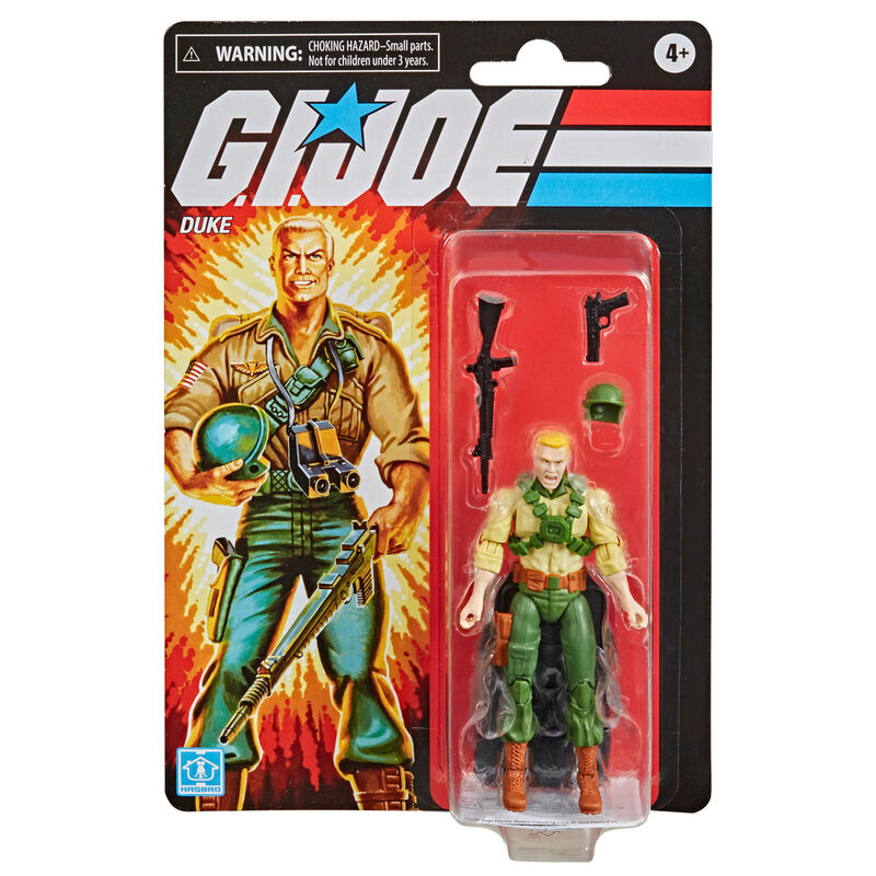 Figura Retro Duke G.I. Joe 9,5cm 5010993797356