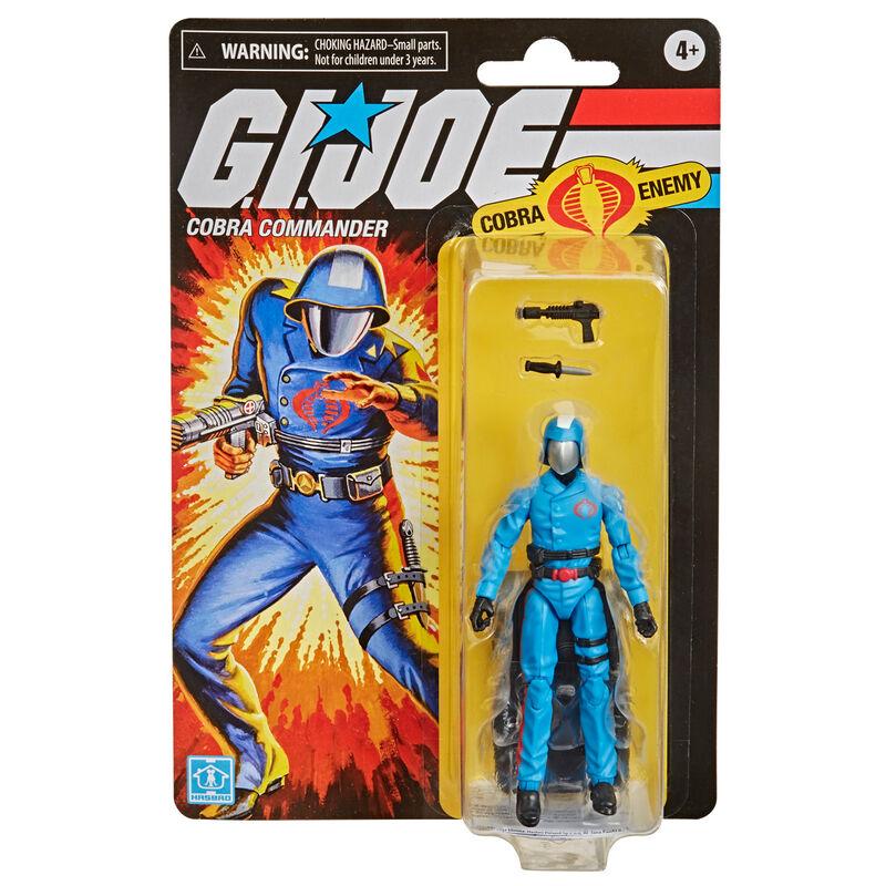 Figura Retro Cobra Commander G.I. Joe 9,5cm 5010993797349
