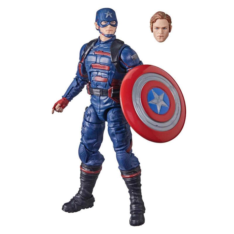 Figura Capitan America Falcon y el Soldado de Inverno Marvel 15cm 5010993860753