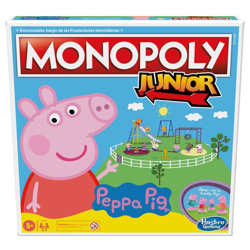 Juego Monopoly Junior Peppa Pig 5010993793372