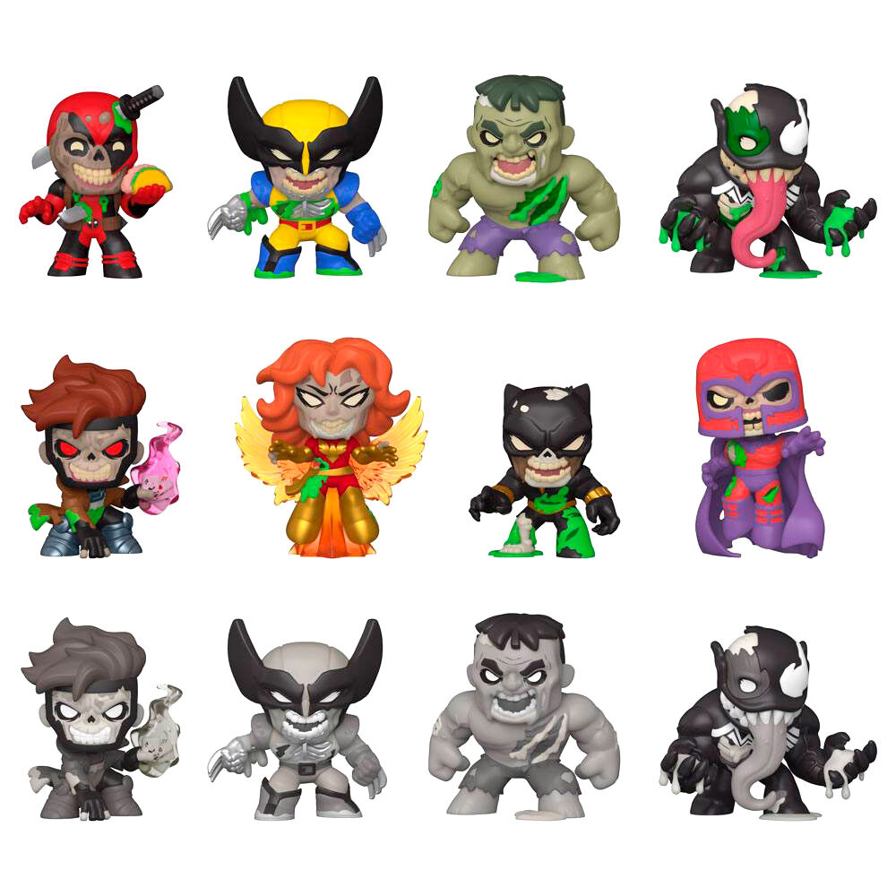 Figura Mystery Minis Marvel Zombies 889698491143
