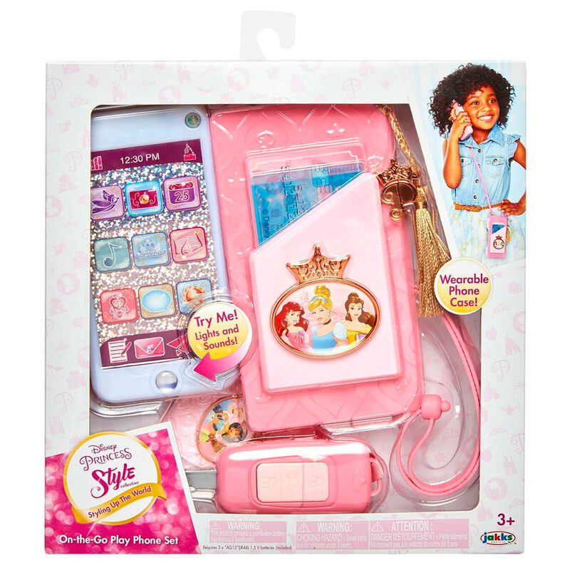 Set Telefono Movil Princesas Disney 39897988795