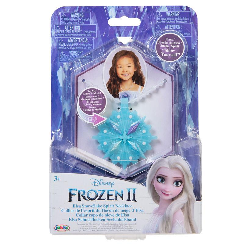Colgante Elsa Frozen 2 Disney luz y sonido 192995211551