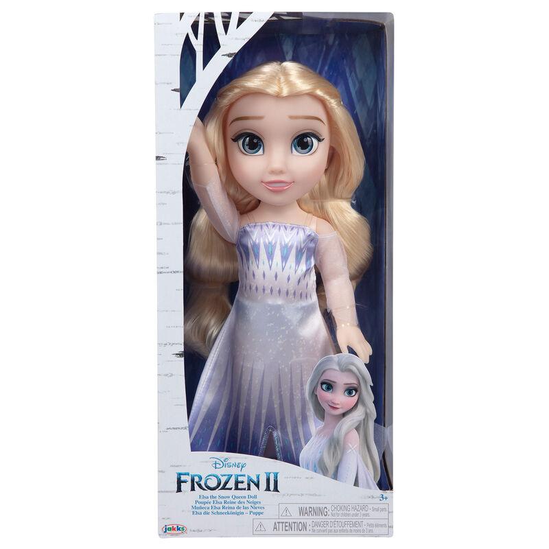 Muñeca Elsa Reina de las Nieves Frozen 2 Disney 38cm 192995208797