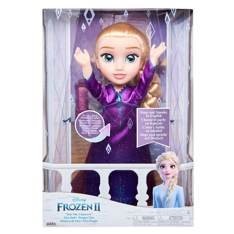 Muñeca Elsa Into the Unknown Frozen 2 Disney 33cm 192995208490