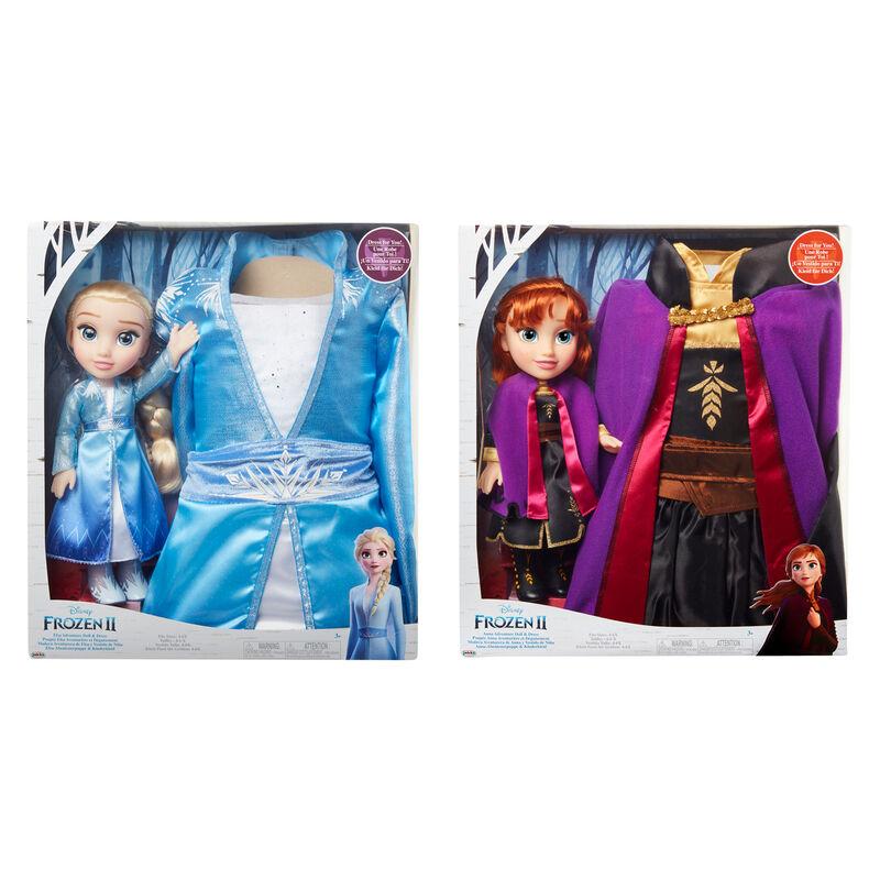 Set Muñeca + Disfraz Frozen 2 Disney surtido 192995201453