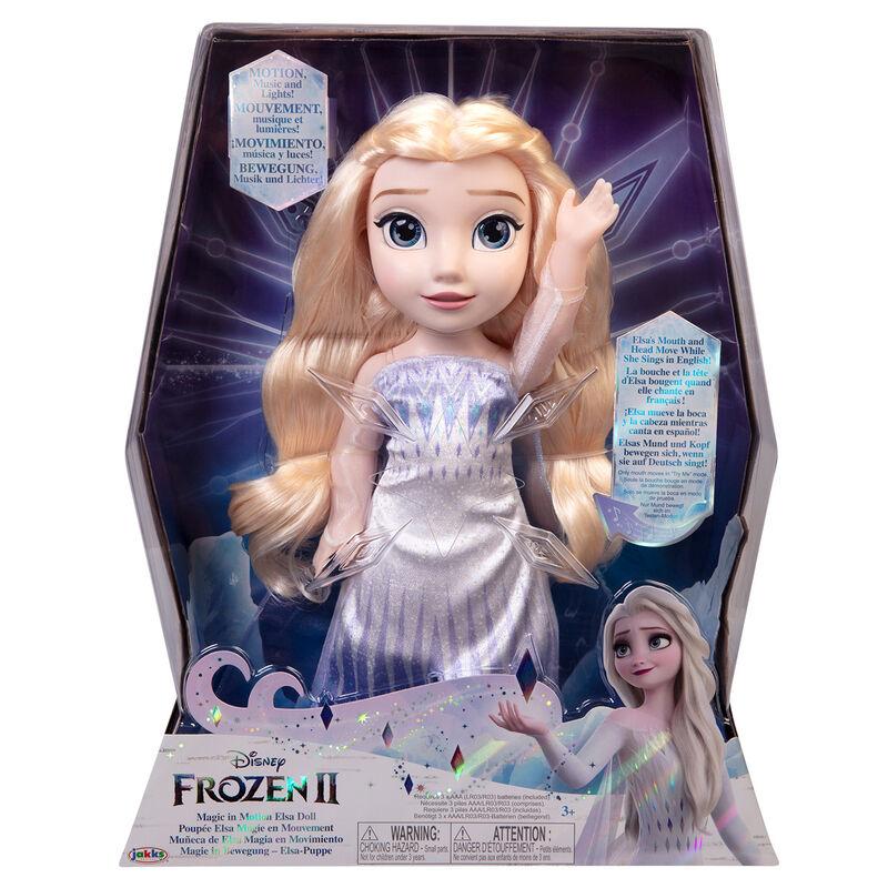 Muñeca Elsa Magia en Movimiento Frozen 2 Disney 38cm 192995210332