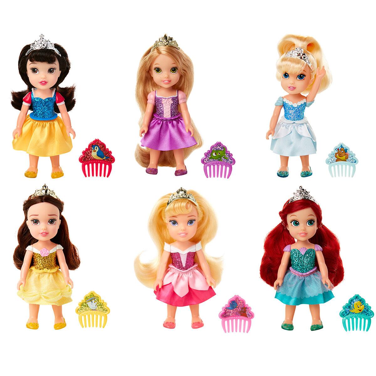 Muñeca Princesas Disney 15cm surtido 192995206052