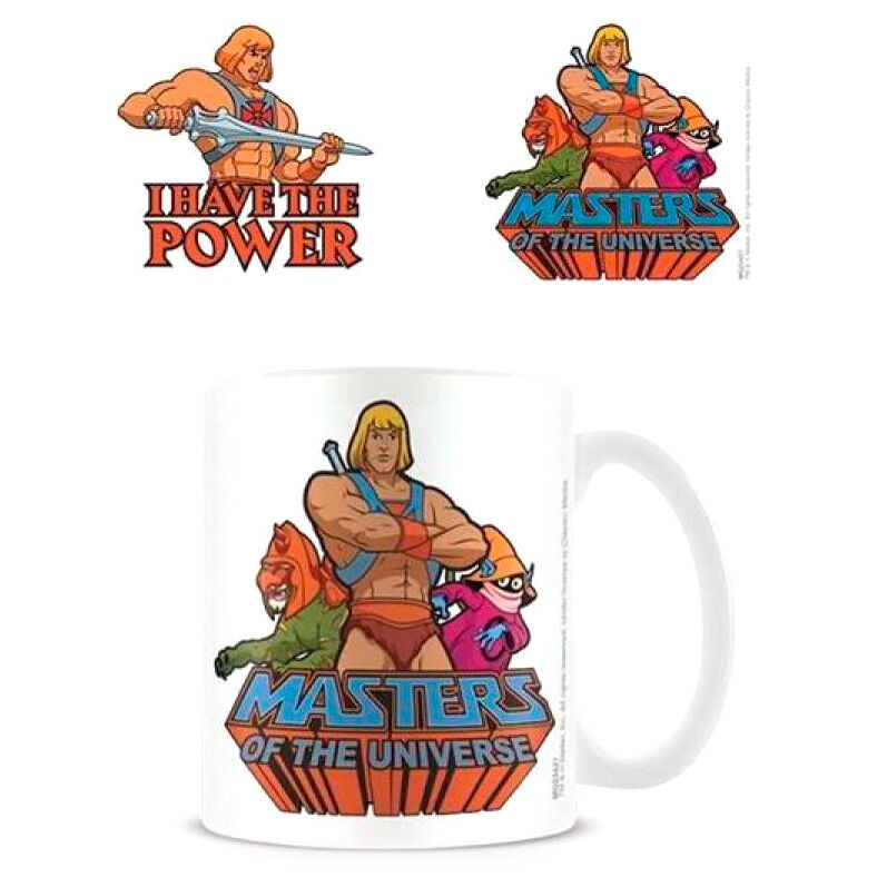Taza I Have the Power Masters of the Universe 5050574234276