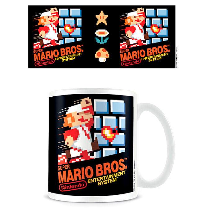 Taza Portada NES Super Mario Nintendo 5050574245166