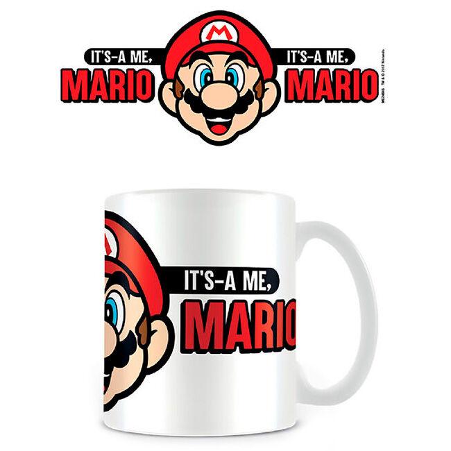 Taza Its A Me Mario Super Mario Nintendo 5050574248457