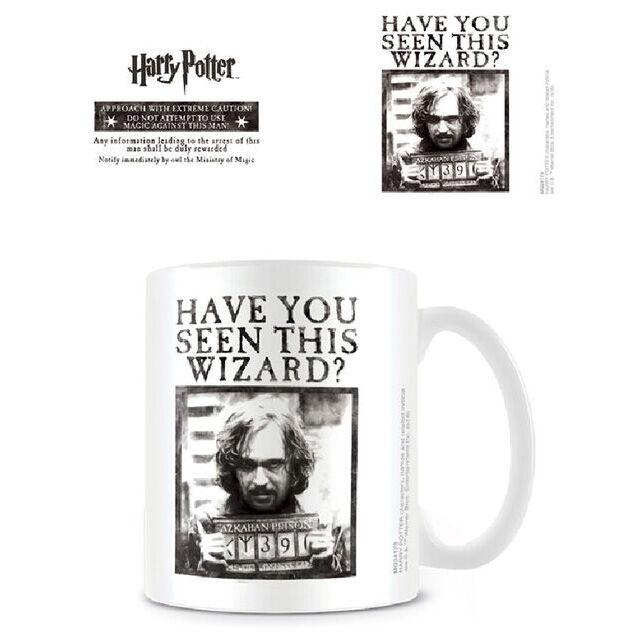 Taza Wanted Harry Potter 5050574241731