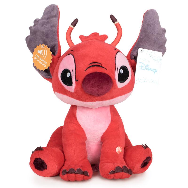 Peluche Leroy Stitch Disney soft sonido 20cm 8425611399909