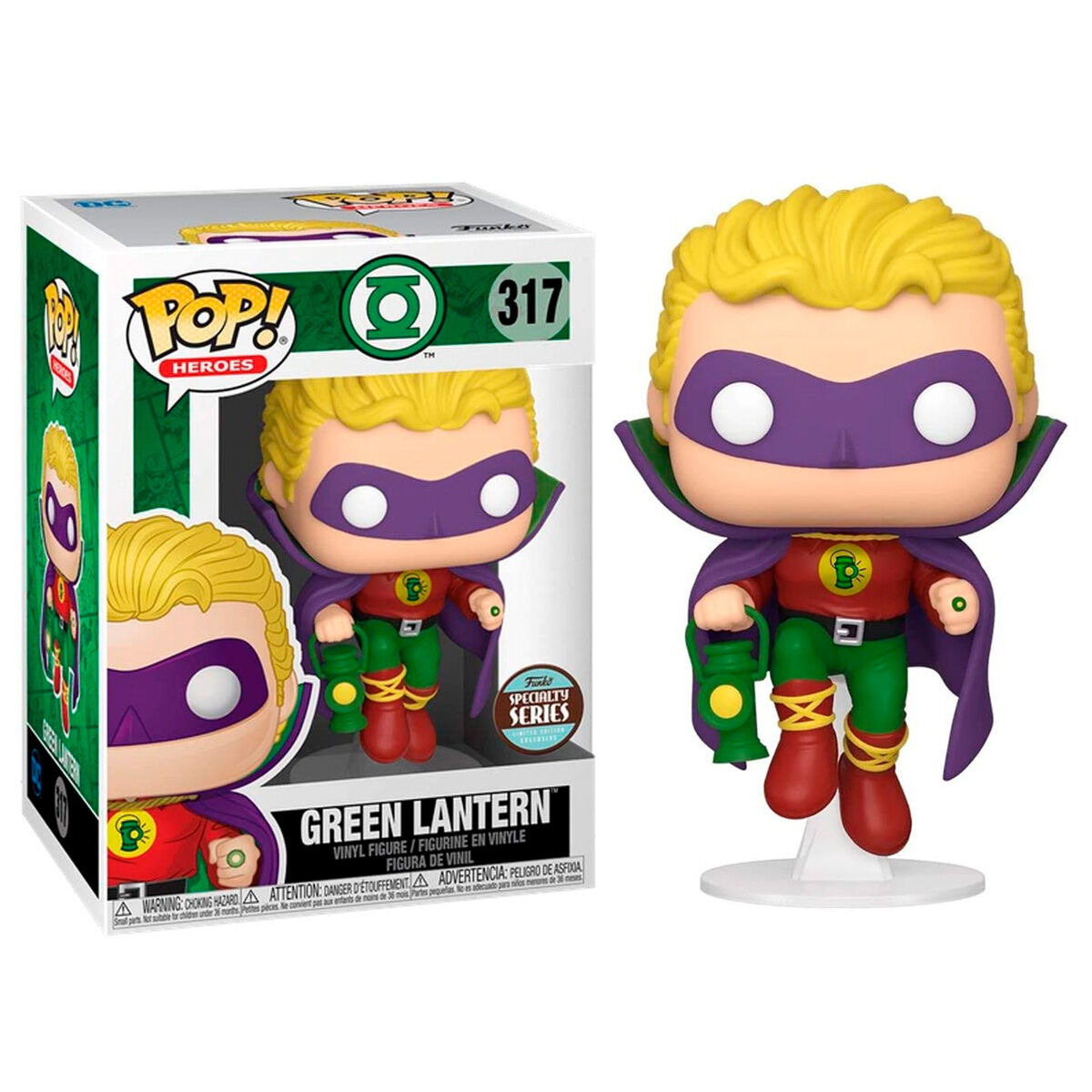 Funko POP o Figura POP DC Comics Green Lantern Exclusive