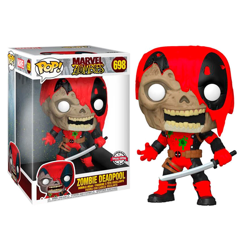Figura POP Marvel Zombies - Zombie Deadpool Exclusive 25cm 889698516617