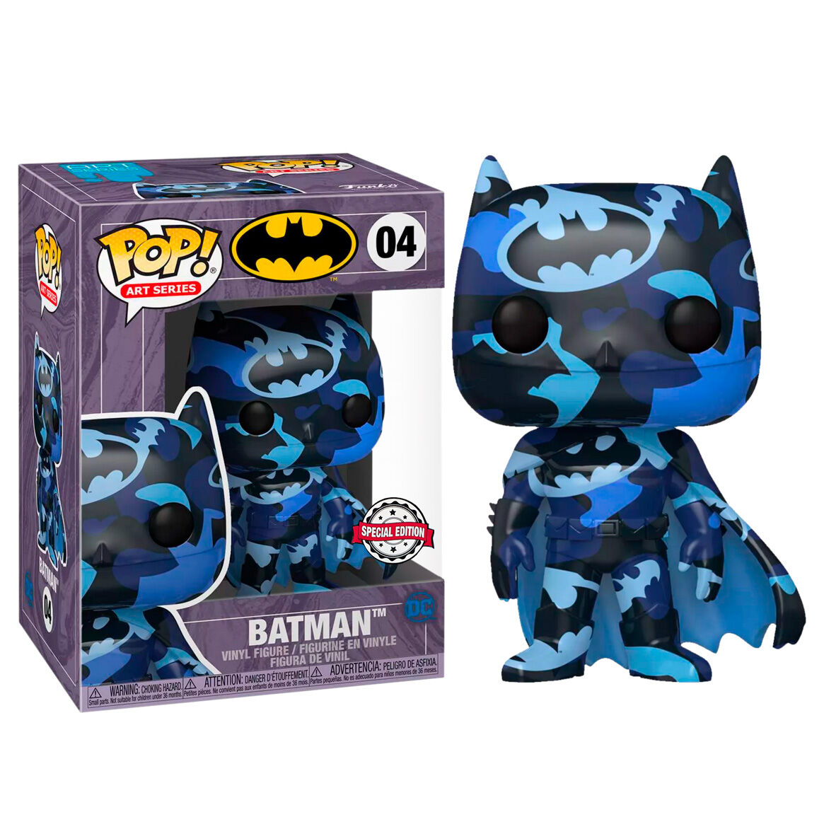 Figura POP DC Comics Batman 4 Artist Srs + Case Exclusive 889698518406