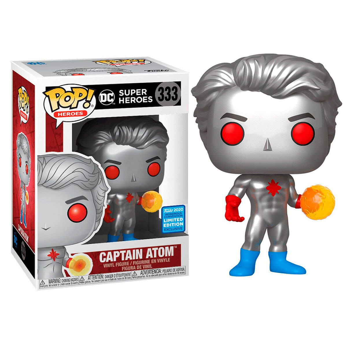 Funko POP o Figura POP DC Comics Captain Atom Exclusive