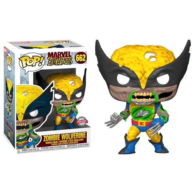 Figura Marvel Zombies - Zombie Wolverine Exclusive 25cm 889698516556