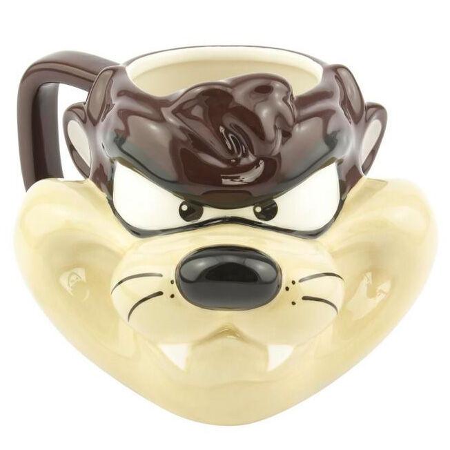 Taza 3D Taz Looney Tunes Warner Bros 5055964743840