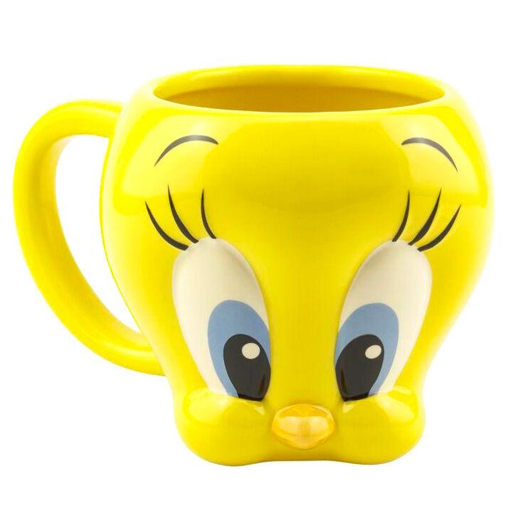 Taza 3D Piolin Looney Tunes Warner Bros 5055964743857
