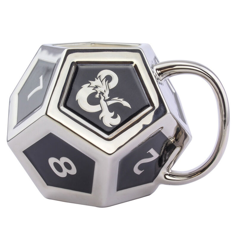 Taza 3D D12 Dungeons and Dragons 5055964742775