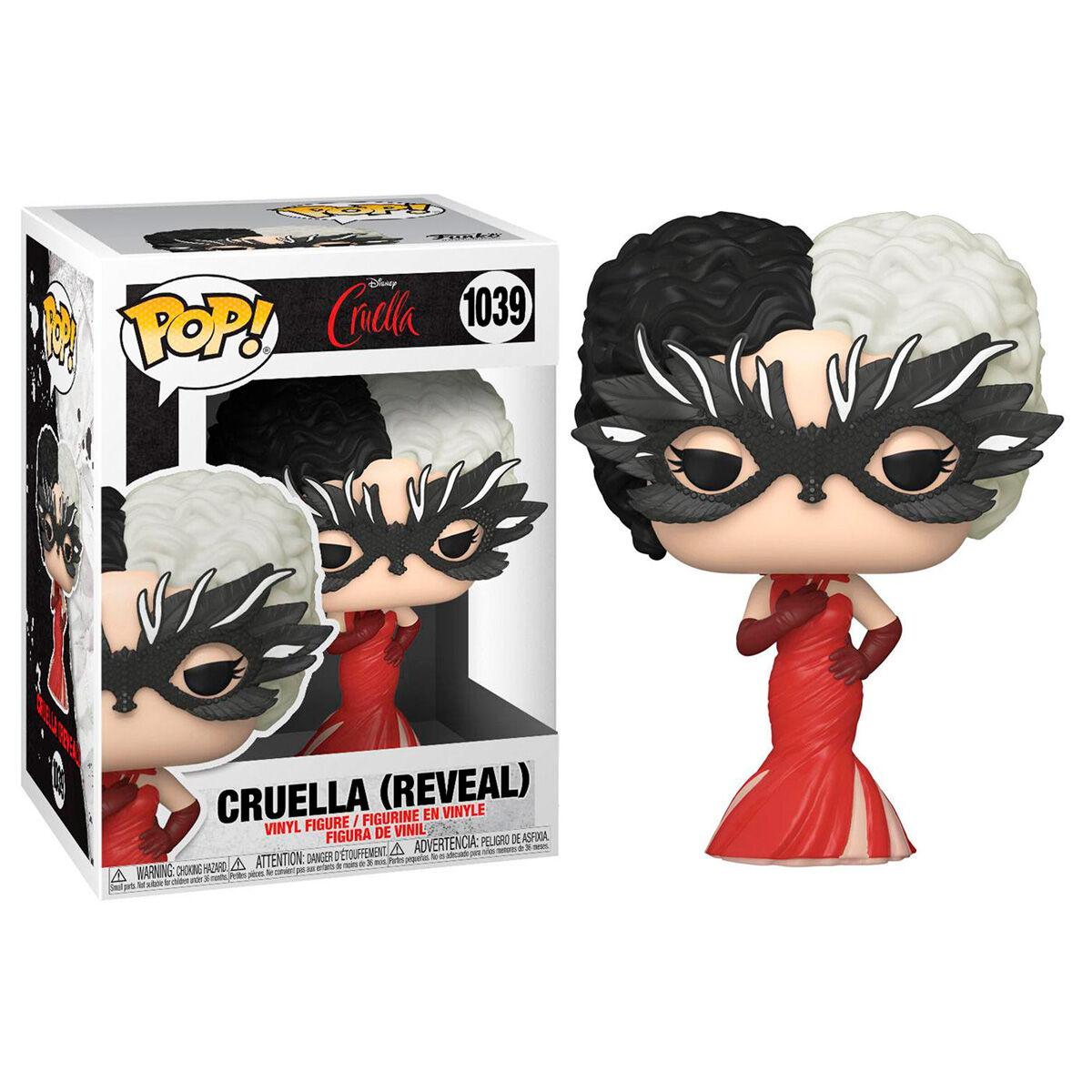 Funko POP o Figura POP Disney Cruella Reveal