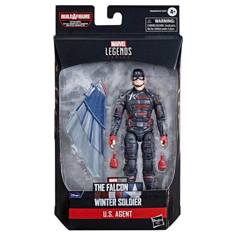 Figura U.S. Agent Falcon y el Soldado de Invierno Marvel 15cm 5010993790814