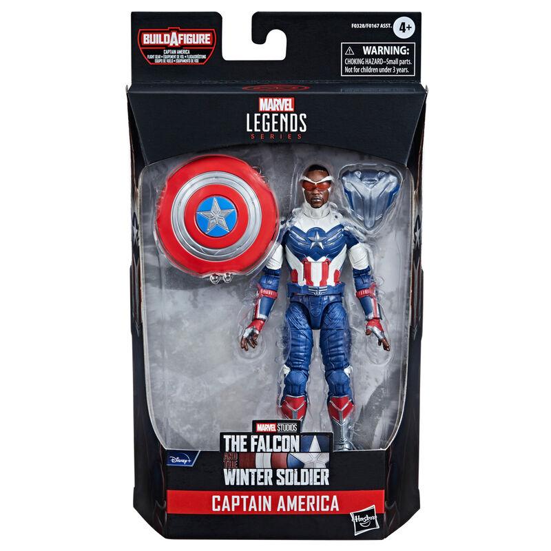 Figura Capitan America Falcon y el Soldado de Invierno Marvel 15cm 5010993791101