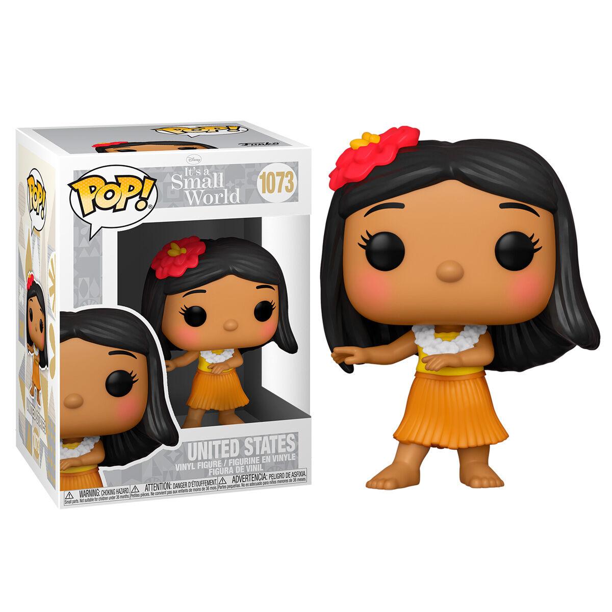 Figura POP Disney Small World United States 889698552592