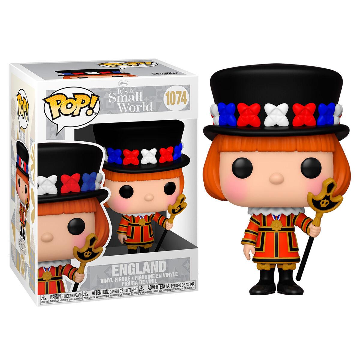 Figura POP Disney Small World England 889698552561