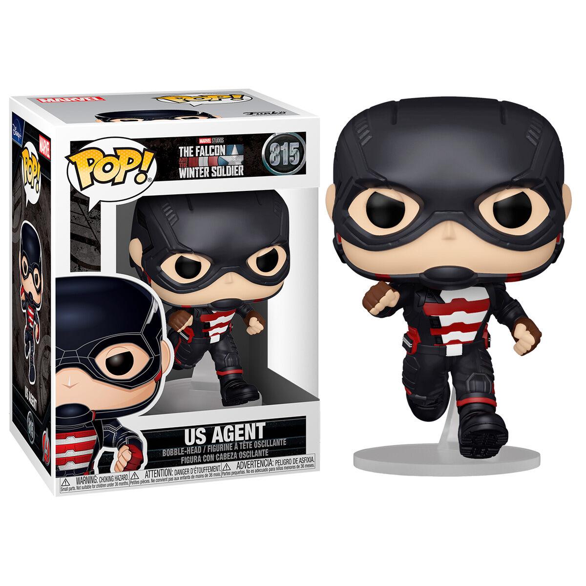Figura POP Marvel The Falcon & Winter Soldier US Agent 889698516310