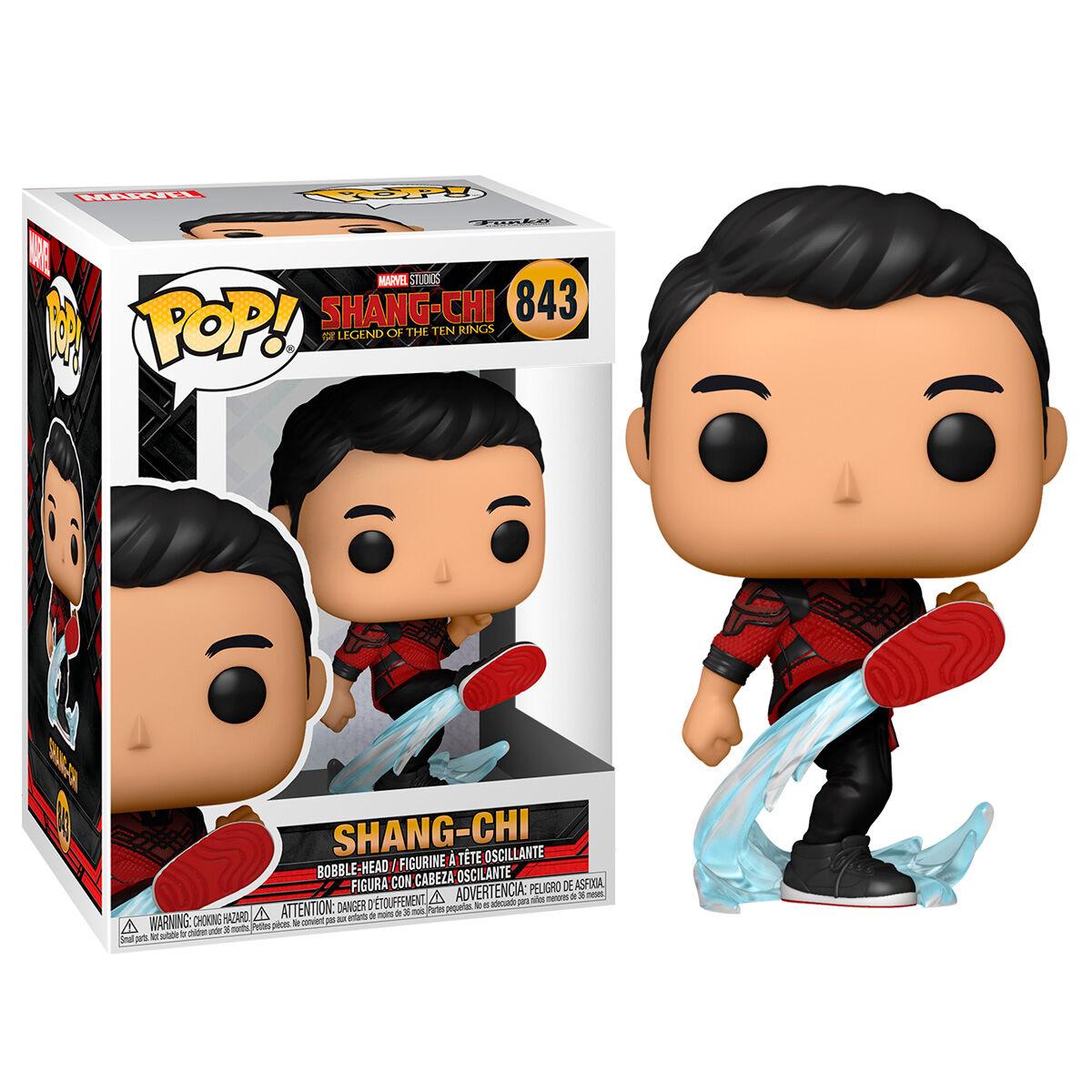 Funko POP o Figura POP Marvel Shang-Chi - Shang-Chi