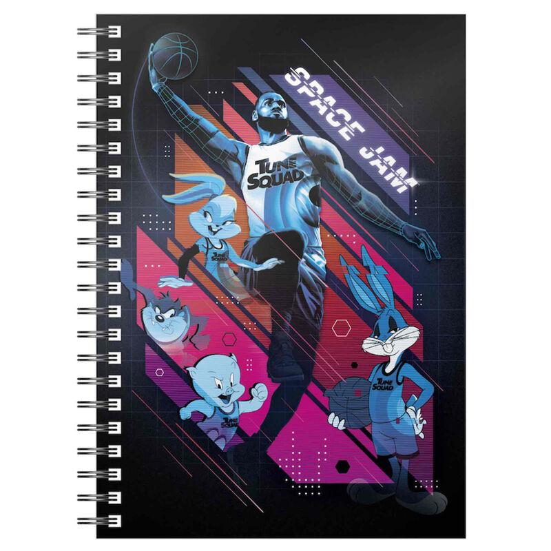 Cuaderno A5 Lebron Mate Space Jam 2 8435450248856