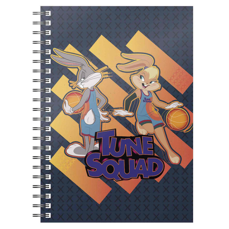 Cuaderno A5 Bugs and Lola Tune Squad Space Jam 2 8435450249006