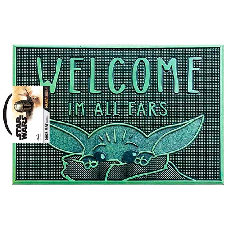 Felpudo Welcome Im All Ears Yoda The Child Star Wars The Mandalorian 5050293854946