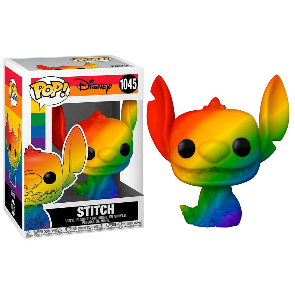 Figura POP Disney Pride Stitch Rainbow 889698565820