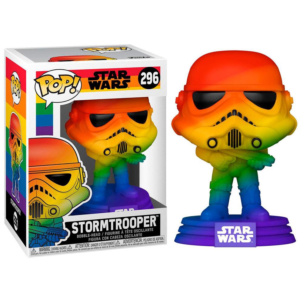 Figura POP Star Wars Pride Stormtrooper Rainbow 889698565813