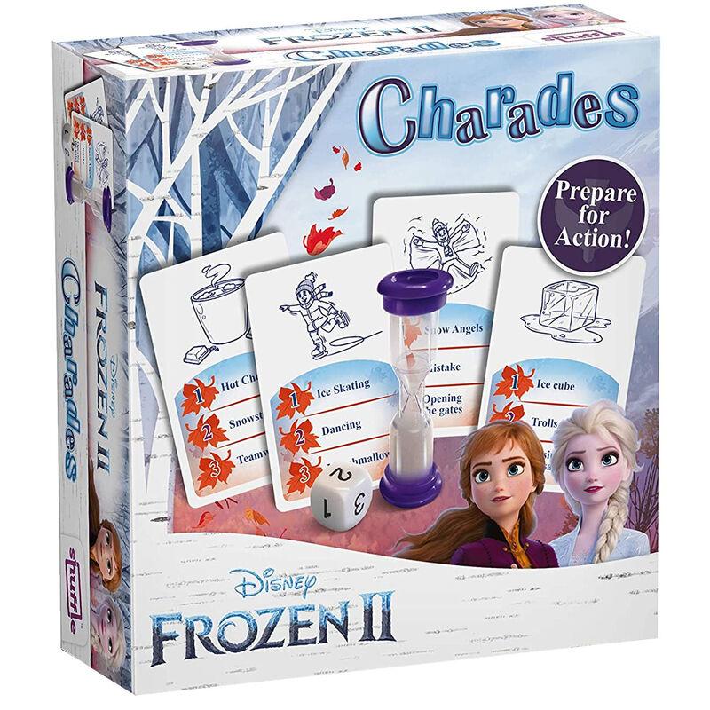 Juego ingles Charades Frozen 2 Disney 5411068200397