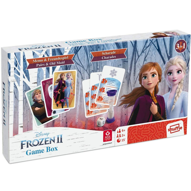Juego ingles Charades Frozen 2 Disney 4042677015501