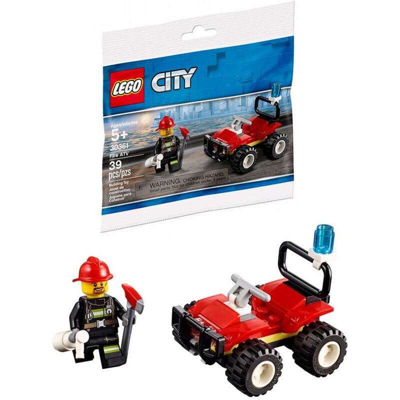 Quad Bombero Lego City 5702016374773