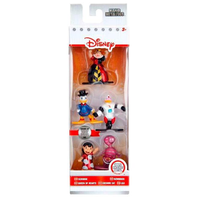 Pack 5 figuras Nano Metalfigs Disney 4cm 801310993446