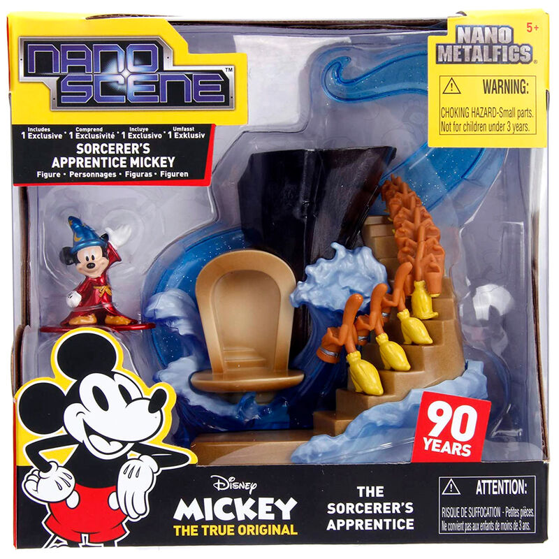 Figura Nano Metalfig Mickey The Sorcerers Apprentice Disney 801310999844