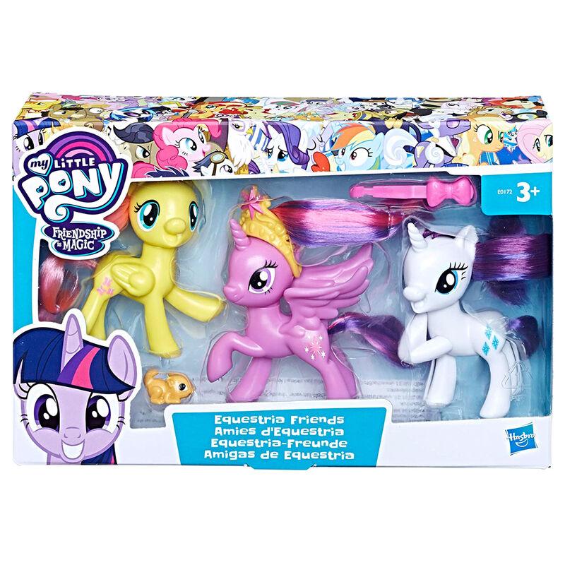 Pack 3 figuras Amigas de Equestria Mi Pequeño Pony 5010993515486