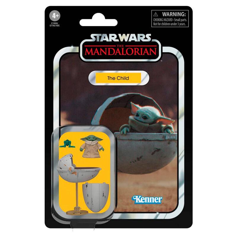 Figura Yoda The Child The Mandalorian Star Wars 9,5cm 5010993834310