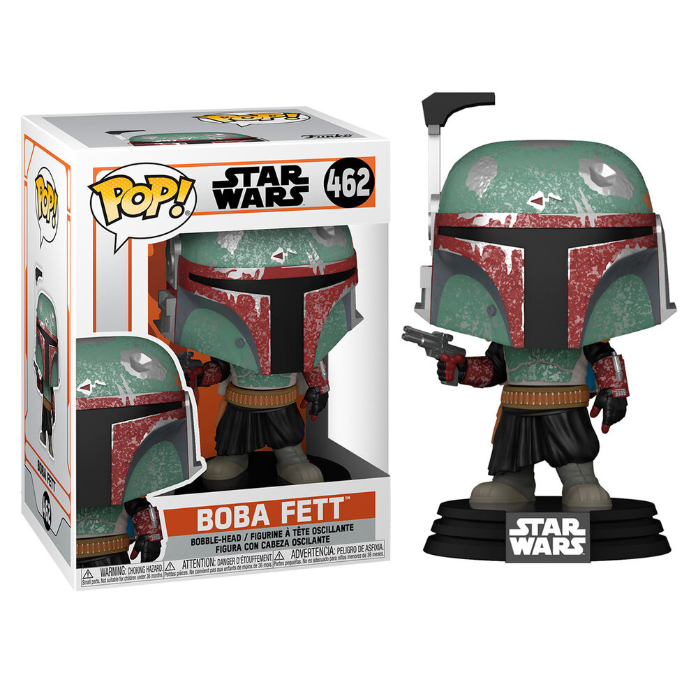 Figura POP Star Wars Mandalorian Boba Fett 889698545242