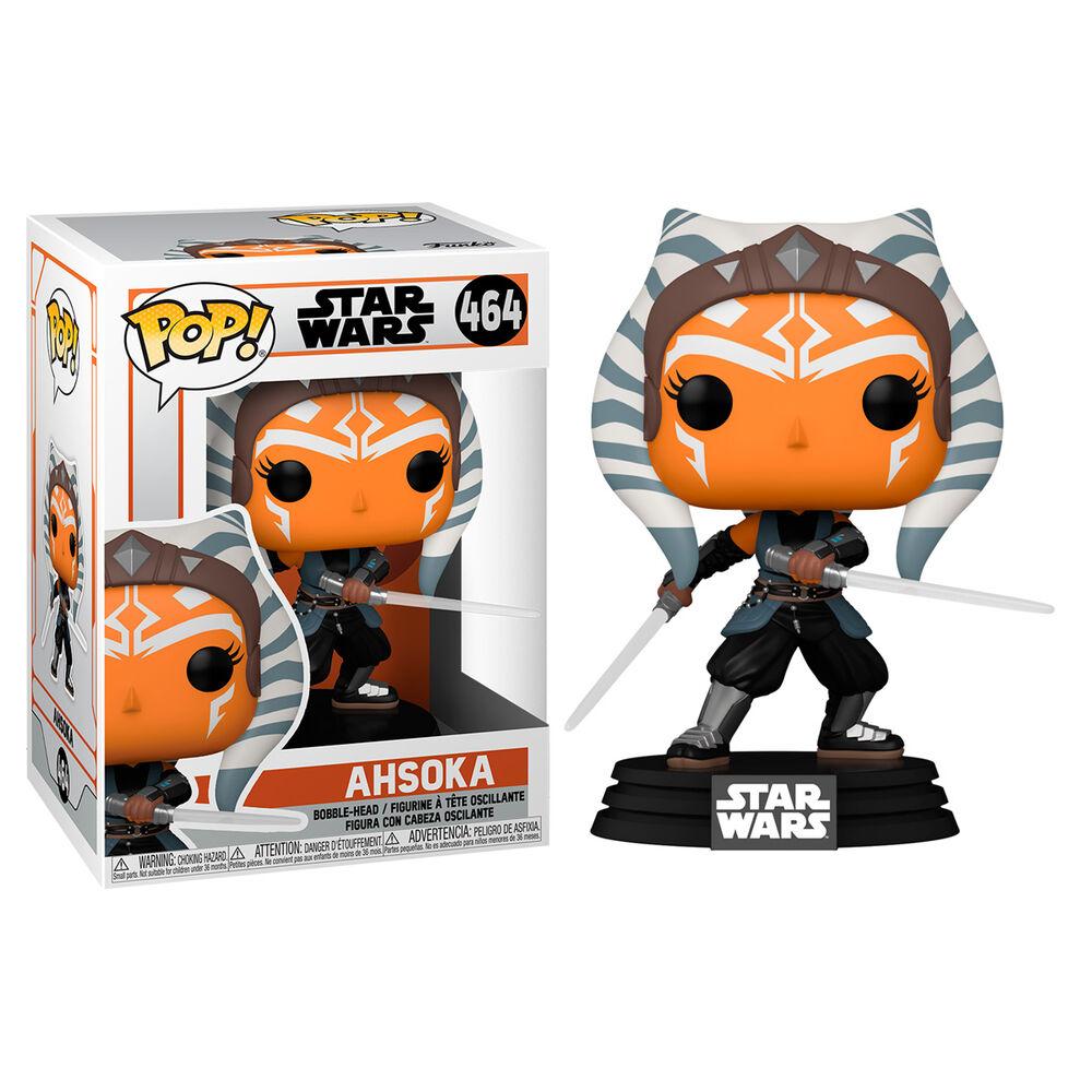 Figura POP Star Wars Mandalorian Ahsoka with Sabers 889698545273