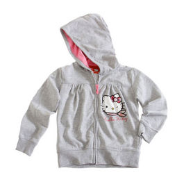 Chaqueta sudadera Hello Kitty gris