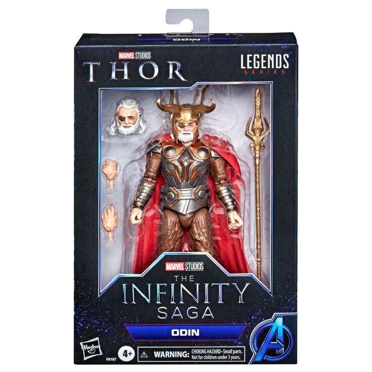 Figura Odin Thor The Infinity Saga Marvel 15cm 5010993839384