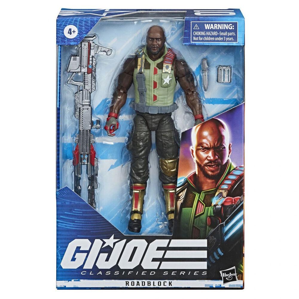 Figura Roadblock G.I. Joe Classified Series 15cm 5010993931415